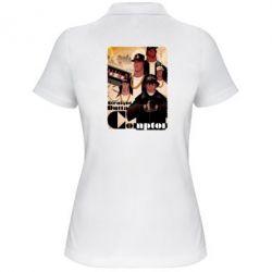 Женская футболка поло Compton's NWA - FatLine