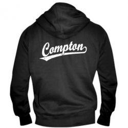 Мужская толстовка на молнии Compton Vintage - FatLine