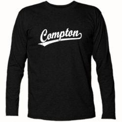 Футболка с длинным рукавом Compton Vintage - FatLine