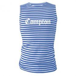 Майка-тельняшка Compton - FatLine