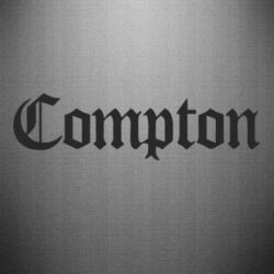 Наклейка Compton
