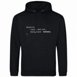 Чоловіча толстовка Computer code for t-shirt