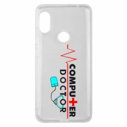 Чехол для Xiaomi Redmi Note 6 Pro Computer Doctor