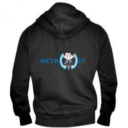 Чоловіча толстовка на блискавці Connor from the game Detroit: Become a Man