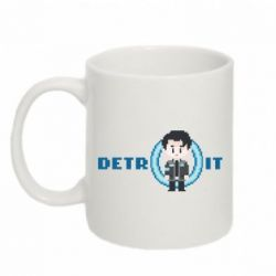 Кружка 320ml Connor from the game Detroit: Become a Man