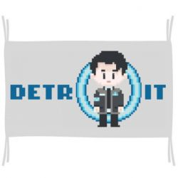 Прапор Connor from the game Detroit: Become a Man