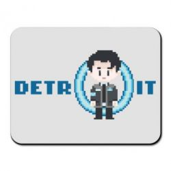 Килимок для миші Connor from the game Detroit: Become a Man