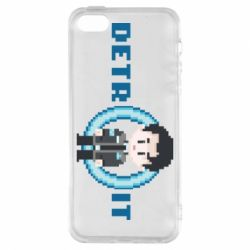 Чохол для iphone 5/5S/SE Connor from the game Detroit: Become a Man
