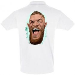 Футболка Поло Conor McGregor Art - FatLine