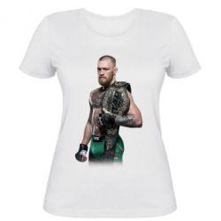 Женская футболка Conor McGregor Belt - FatLine