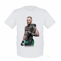 Детская футболка Conor McGregor Belt - FatLine