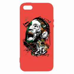 Купить UFC, Чехол для iPhone5/5S/SE Conor McGregor Fan Art, FatLine