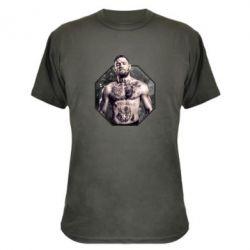 Камуфляжная футболка Conor McGregor - FatLine
