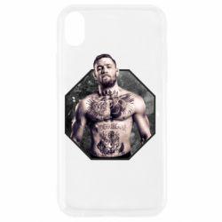Чехол для iPhone XR Conor McGregor