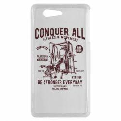 Чохол для Sony Xperia Z3 mini Conquer All - FatLine
