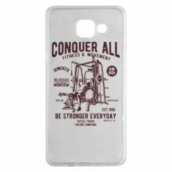 Чохол для Samsung A5 2016 Conquer All - FatLine