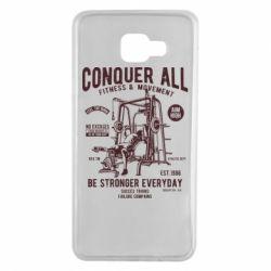 Чохол для Samsung A7 2016 Conquer All - FatLine