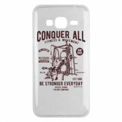 Чохол для Samsung J3 2016 Conquer All