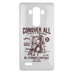 Чохол для LG G4 Conquer All - FatLine