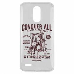 Чохол для LG K10 2017 Conquer All - FatLine