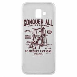 Чохол для Samsung J6 Plus 2018 Conquer All - FatLine