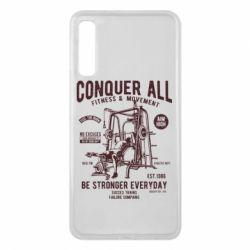 Чохол для Samsung A7 2018 Conquer All - FatLine