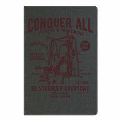 Блокнот А5 Conquer All - FatLine