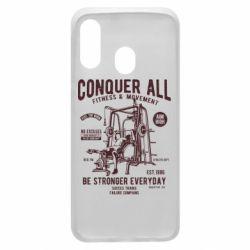 Чохол для Samsung A40 Conquer All
