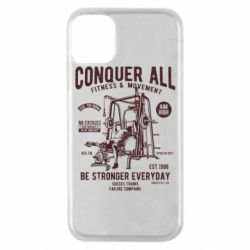 Чохол для iPhone 11 Pro Conquer All