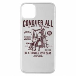 Чохол для iPhone 11 Pro Max Conquer All