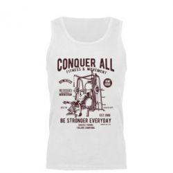 Майка чоловіча Conquer All - FatLine