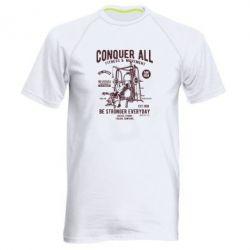 Чоловіча спортивна футболка Conquer All - FatLine