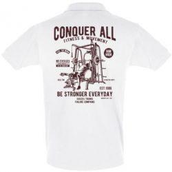 Футболка Поло Conquer All - FatLine