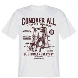 Мужская футболка Conquer All - FatLine