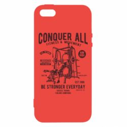 Чохол для iphone 5/5S/SE Conquer All