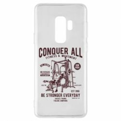 Чохол для Samsung S9+ Conquer All