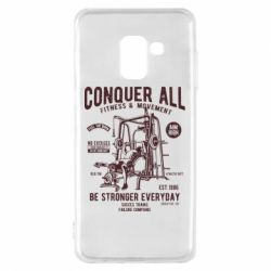 Чохол для Samsung A8 2018 Conquer All - FatLine