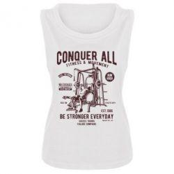 Майка жіноча Conquer All - FatLine
