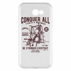 Чохол для Samsung A7 2017 Conquer All - FatLine