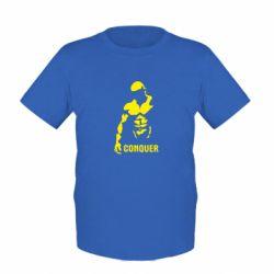 Детская футболка Conquer - FatLine