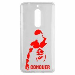 Чехол для Nokia 5 Conquer - FatLine