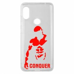 Чехол для Xiaomi Redmi Note 6 Pro Conquer - FatLine