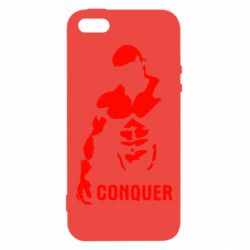 Чехол для iPhone5/5S/SE Conquer - FatLine