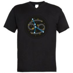 Чоловіча футболка з V-подібним вирізом Constellation cancer