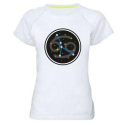 Жіноча спортивна футболка Constellation cancer