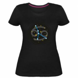 Жіноча стрейчева футболка Constellation cancer