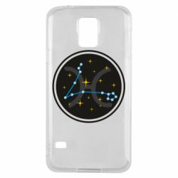 Чехол для Samsung S5 Constellation fish