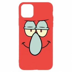 Чехол для iPhone 11 Pro Contented emoticon with a big nose