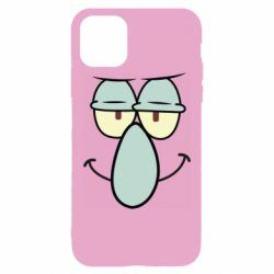Чехол для iPhone 11 Pro Max Contented emoticon with a big nose