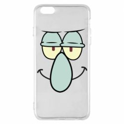 Чехол для iPhone 6 Plus/6S Plus Contented emoticon with a big nose